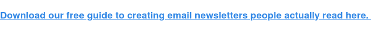 6 Fundamentals for Creating Email Newsletters That Convert