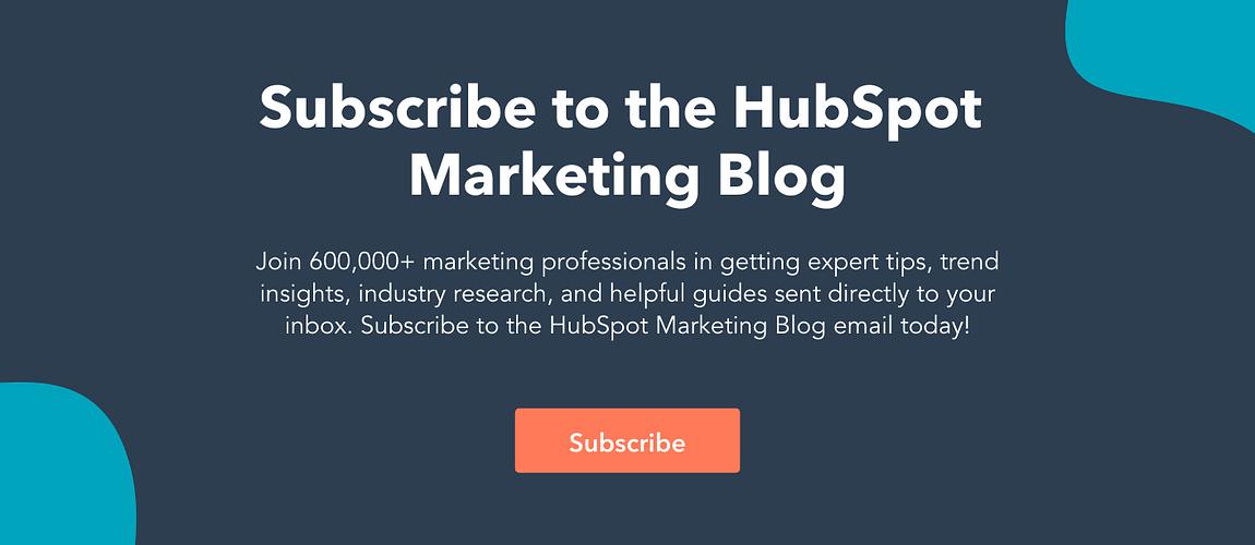 The HubSpot Blog's 2021 Reader Experience Survey