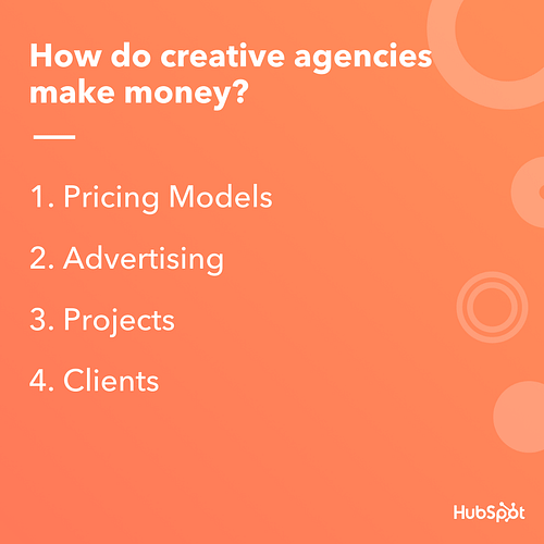 4 Major Ways Your Creative Agency Can Make Money